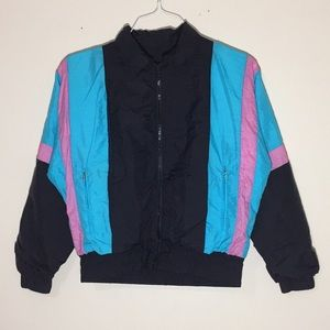 Vintage 1990s Windbreaker Jacket